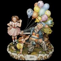 Статуэтка Продавец воздушных шаров
